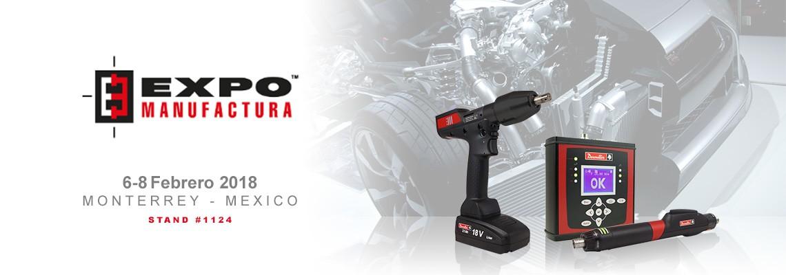 """Participación en la """"Expo Manufactura 2018"""" en Monterrey"""