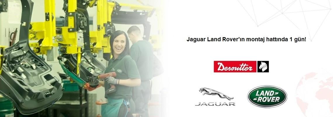 ¡Disfrute estar un día en la línea de ensamblaje de la planta Jaguar Land Rover!