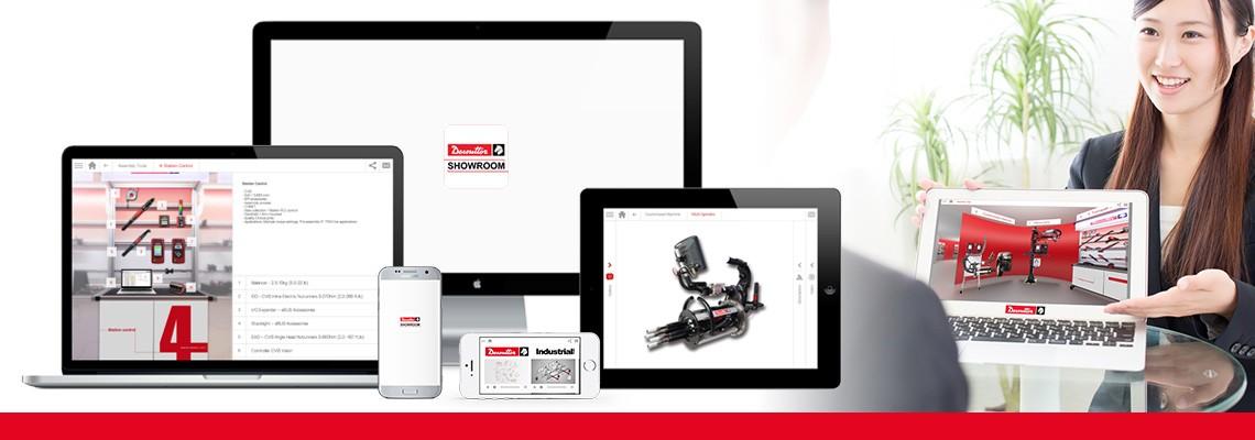 Descargue la aplicación Desoutter Showroom para que descubra todas nuestras soluciones para ensamblaje y barrenado a través de imágenes y videos. Desoutter siempre estará para ayudarle, incluso si usted está sin internet.