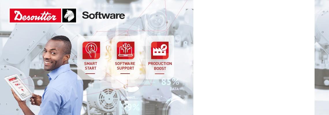 Obtener el soporte adecuado le permite aprovechar al máximo el potencial de su Software Desoutter.