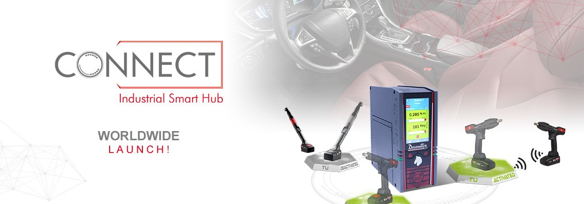 Estamos orgullosos de presentar nuestro nuevo Industrial Hub llamado CONNECT, ¡una solución Desoutter 4.0!
