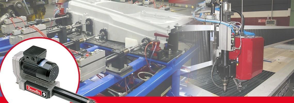 Descubra la gama completa de los AFDE, alimentación neumática y motor eléctrico, hechos para la industria aeroespacial y automotríz. ¡Pida una cotización o demostración!
