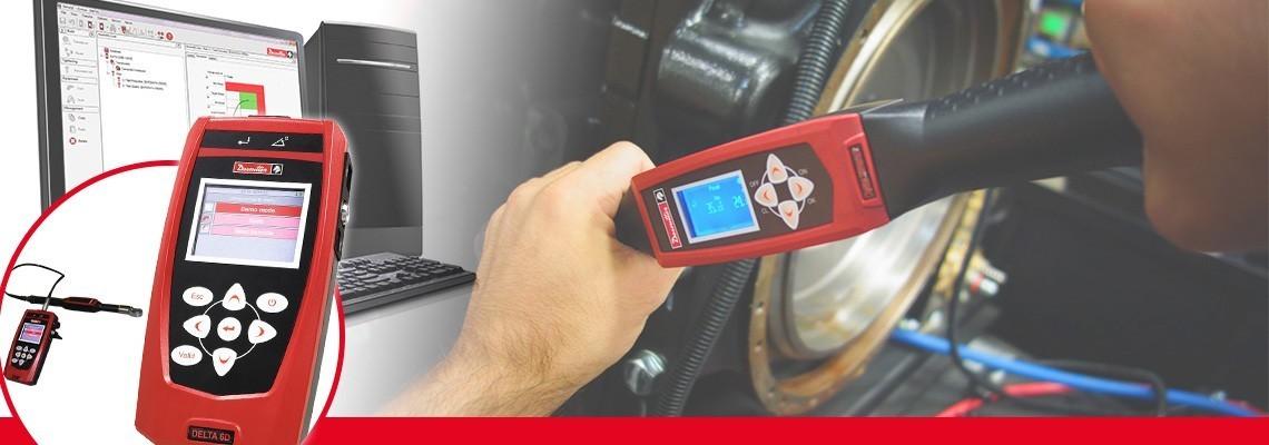 La nueva generación de analizador Delta es la solución portátil compacta para controlar todo tipo de herramientas de producción en tan sólo 500g. Combinado con los DRT estándar o transductores DST es capaz de calibrar herramientas de pulso, atornilladores eléctricos o llaves de torque. Dividido en tres modelos para la medición del torque sólo (DELTA 1D) , Torque y angular (Delta 6D) y capaz de verificar el torque residual con la llave DWTA (Delta 7D).<br/>
