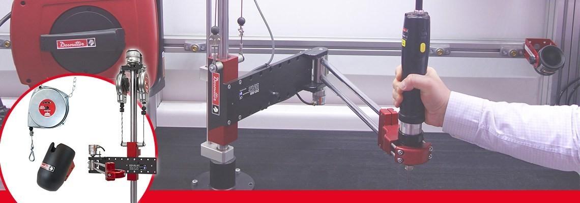 Para incrementar el desempeño de sus herramientas y estaciones de trabajo, herramientas industriales Desoutter le ofrece una amplia gama de productos. Contáctenos para una demostración.