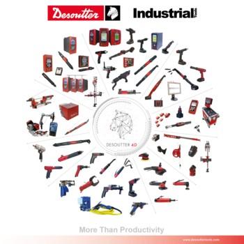 Logo Desoutter Herramientas Industriales Poster