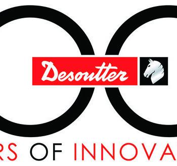Logo Desoutter 100 º Aniversario